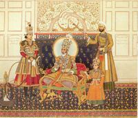 The Emperor Bahadur Shah II Enthroned.jpg