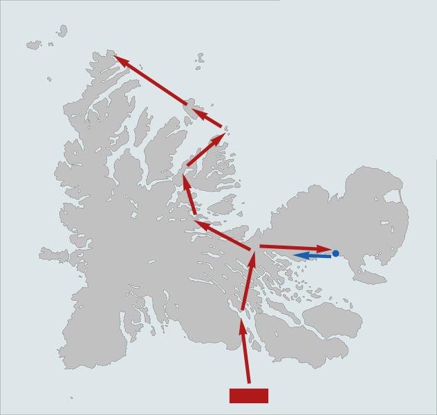 Assault on Kerguelen (Great White South)