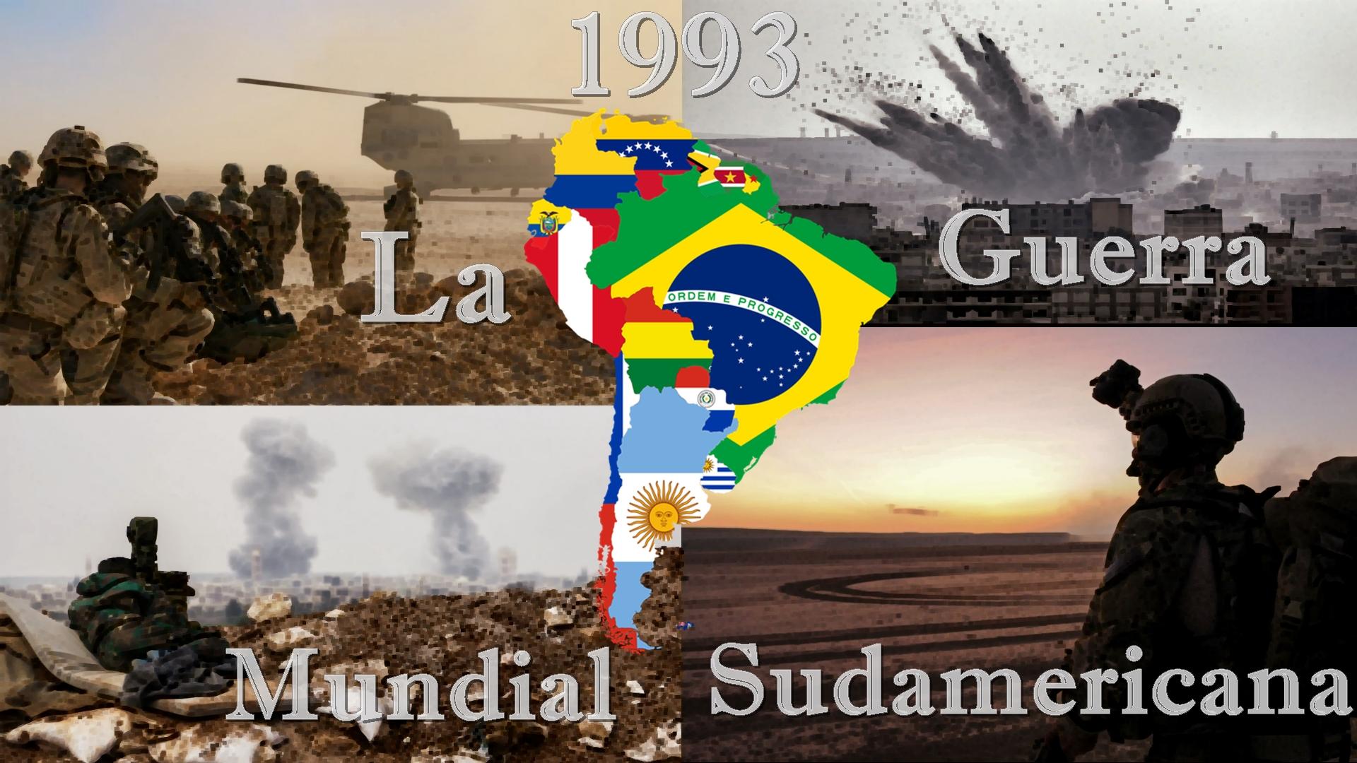 1993: La Guerra Mundial Sudamericana