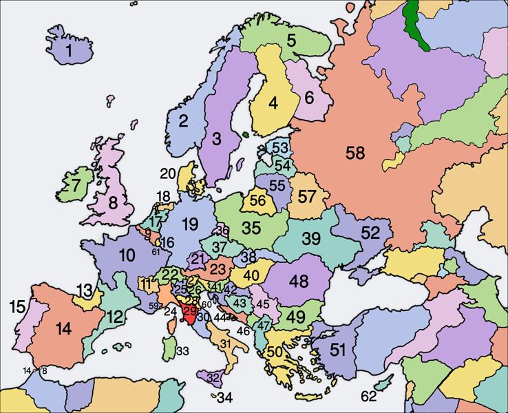 Europe (Vegetarian World)
