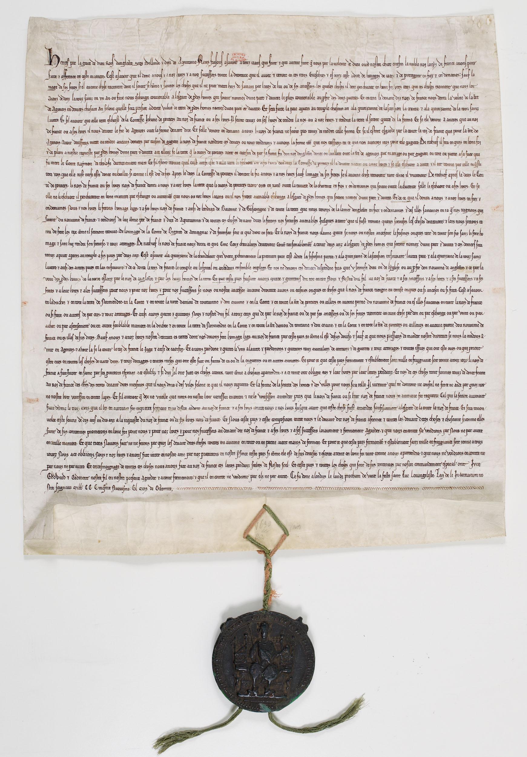 Парижский договор (Франкский Египет)