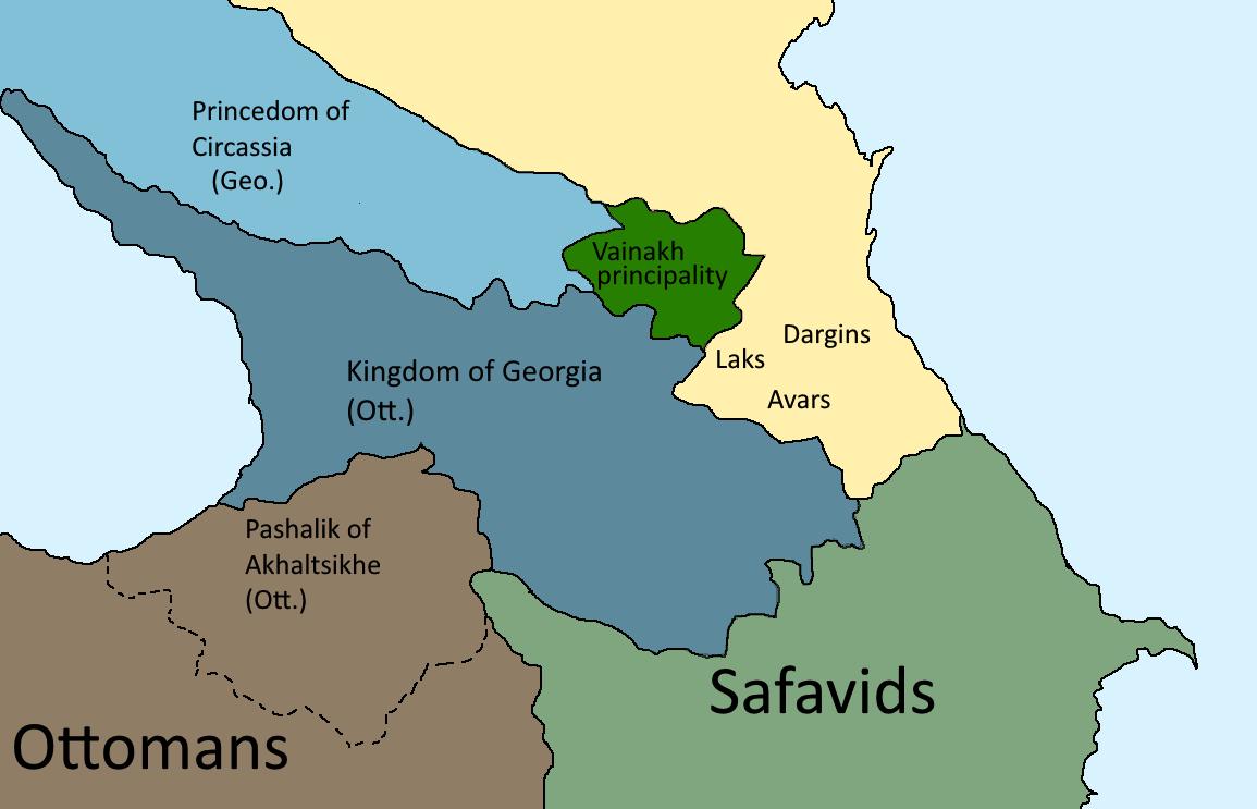 Caucasian War (Second Unification of Georgia)