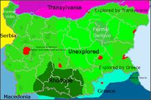 Location of Vidin