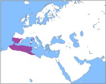 Location of Carthage