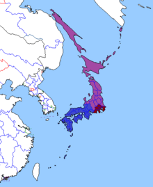 Location of Tōhoku
