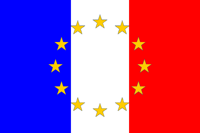 640px-Flag of European Federation France.png