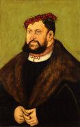 Lucas Cranach d.Ä. - Kurfürst Johann der Beständige von Sachsen