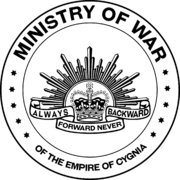 Seal of the Cygnian Ministry of War.png