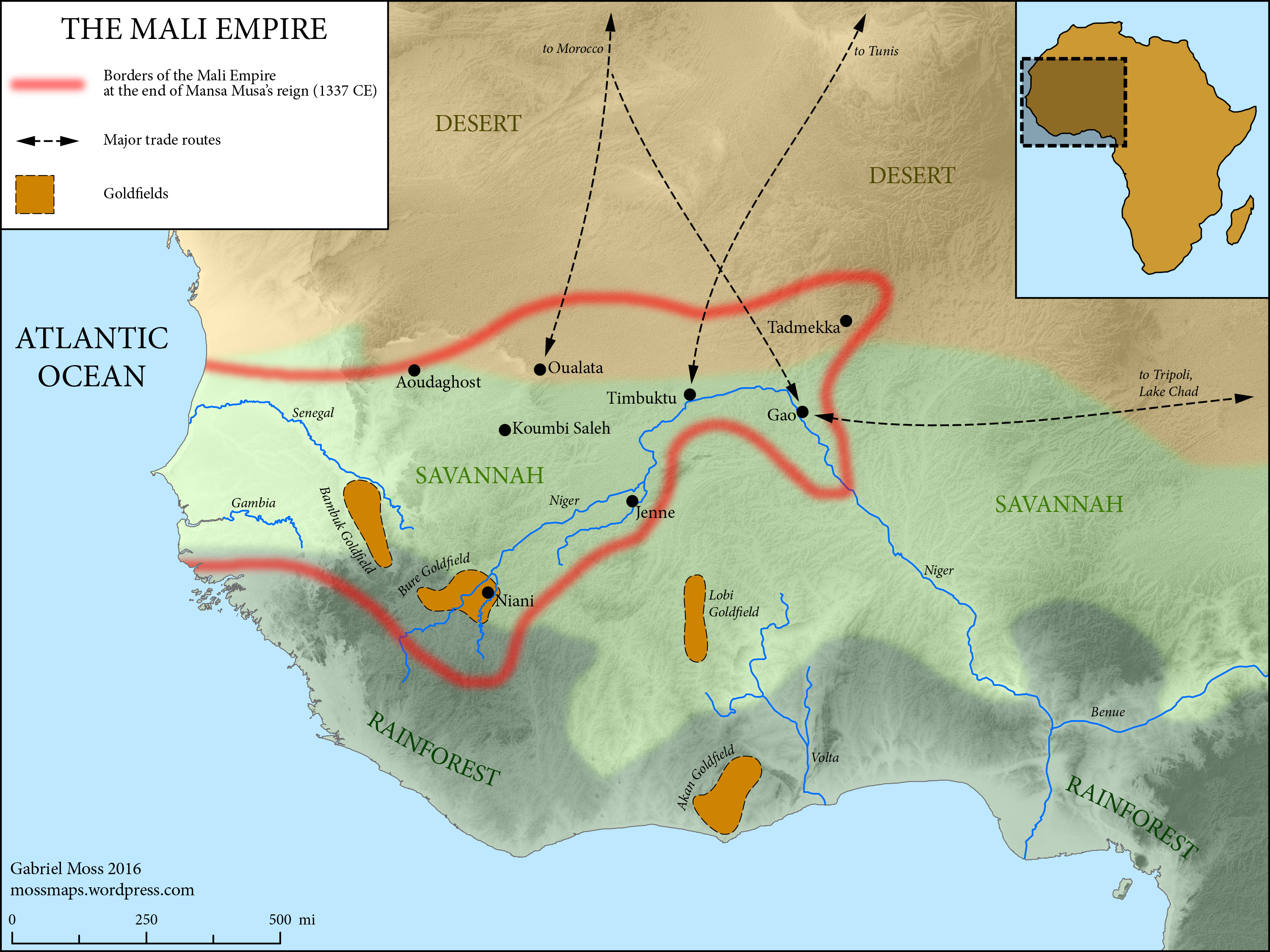 Mali Empire (Of Lions and Falcons)