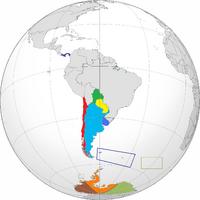Location of Las Republicas Unidas