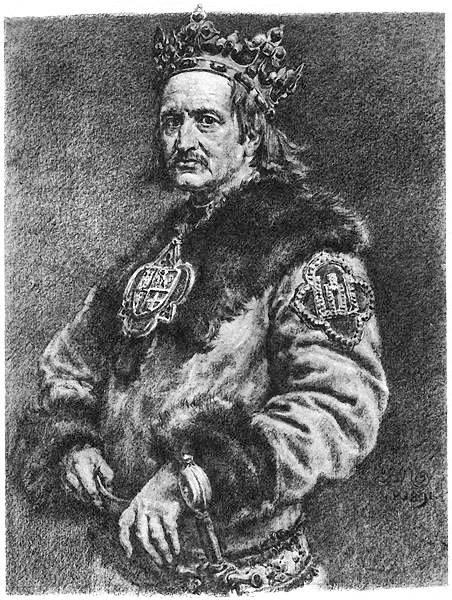 Король умер в Голубе (миниатюра)