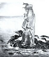 080-Aged Quetzalcoatl Leaves Mexico on Raft of Serpents