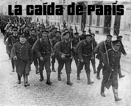 1914: La Caída de París