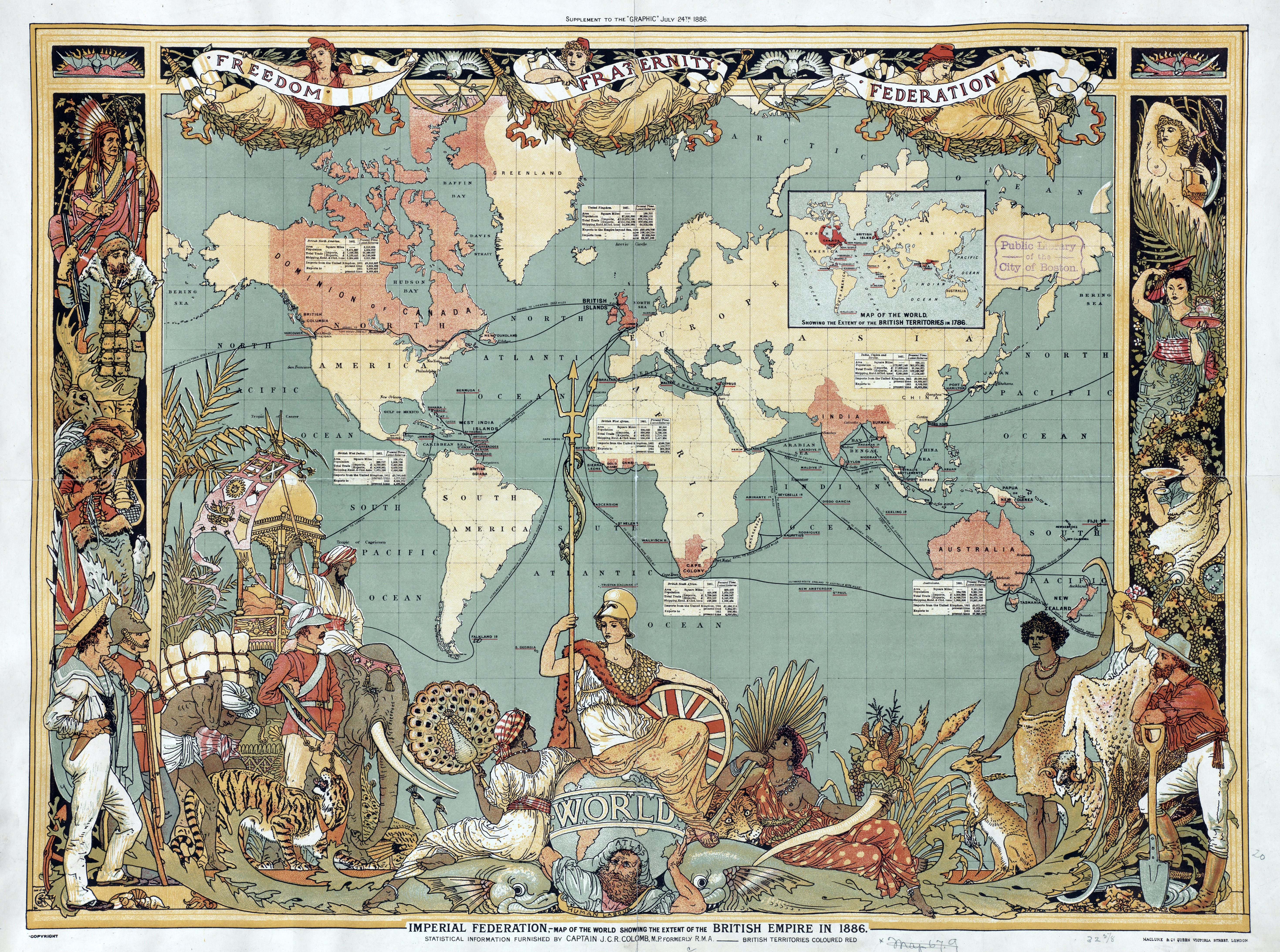 Imperial Federation, Map of the World Showing the Extent of the British Empire in 1886 (levelled).jpg