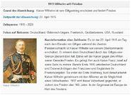 KaiserWFriedenTabelle