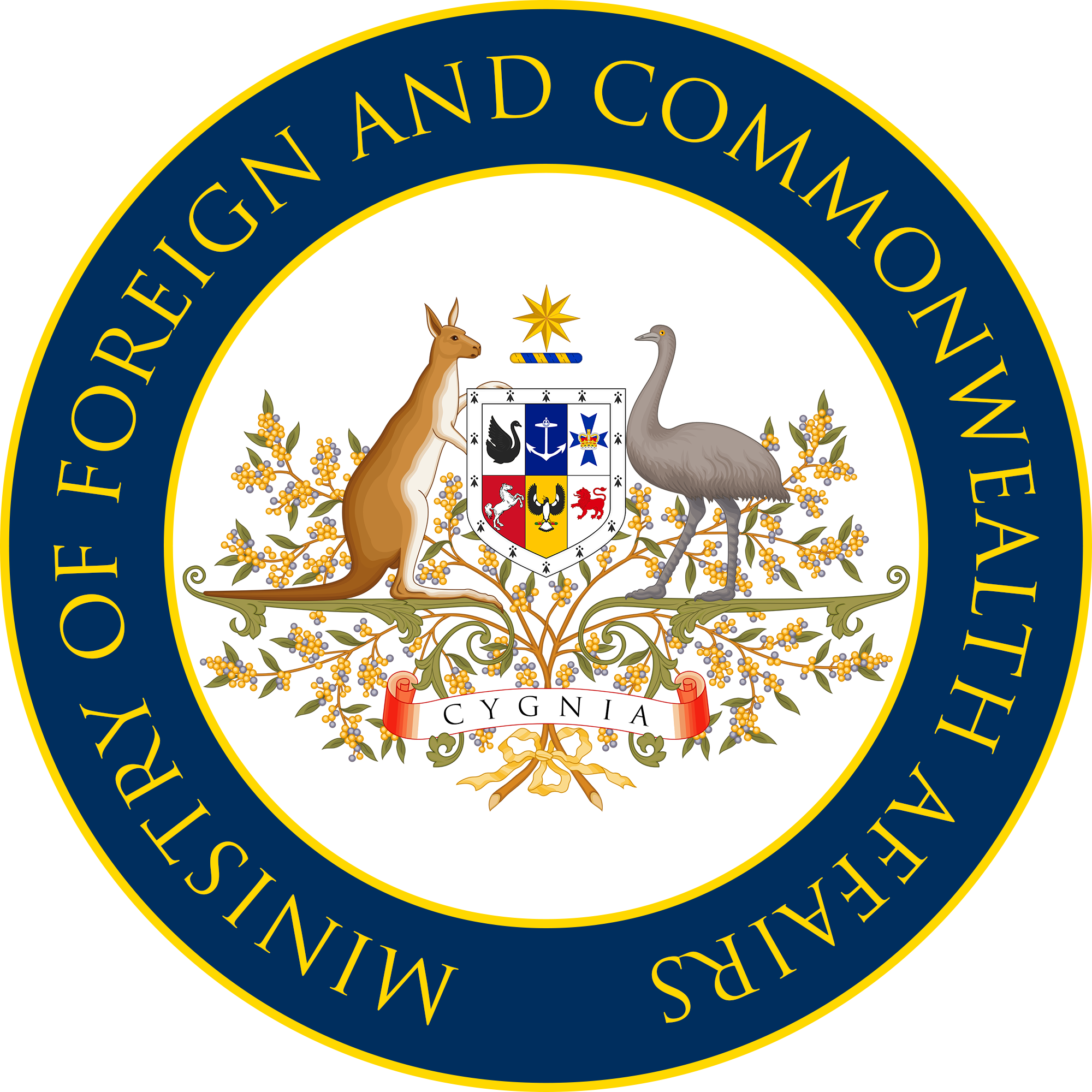 Cygnian Ministry of Foreign and Commonwealth Affairs (Joan of What?)