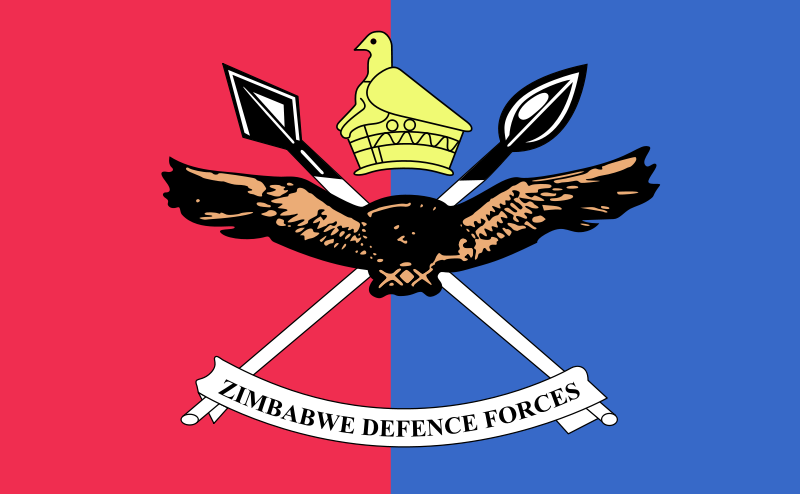 Flag of the Zimbabwe Defence Forces.png