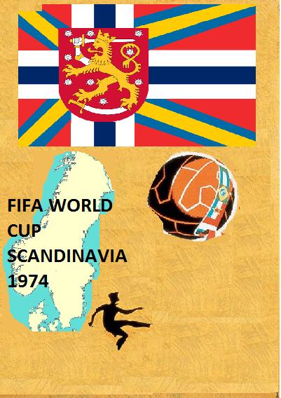 Copa Mundial de Fútbol Escandinavia 1974 (ASXX)