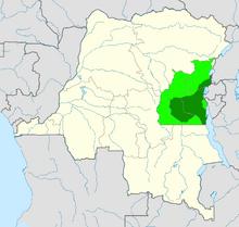 Location of Kivu