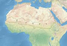 Location of Sahel