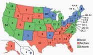 Electoral Map 2000