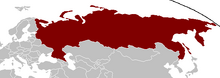 Location of Россия Федерация