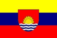 Flagge Venezuelas als Deutsches Bundesland (Klein Venedig)