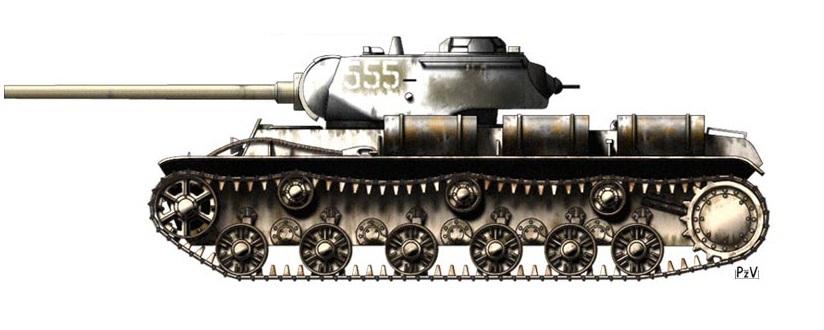 Тяжелый танк Т-39 (Мир Победившего Белого Движения)