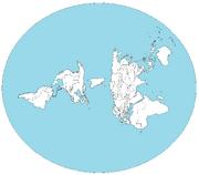 mapa oficial da terra plana