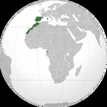 Localización de España
