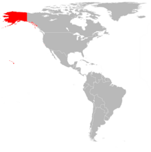 Location of United States of the Pacific
