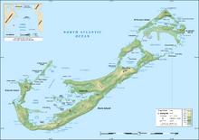 Location of Bermuda