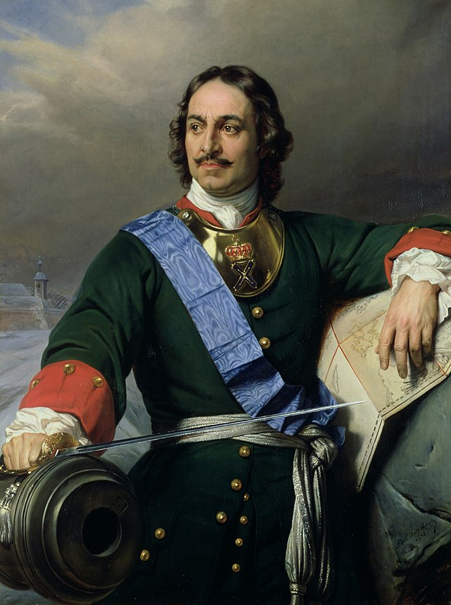 Пётр I ( Россия, Правь Морями!)