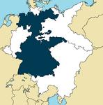 Bavyera Almanyayı Birleştiriyor Alman İmparatorluğu Haritası.png