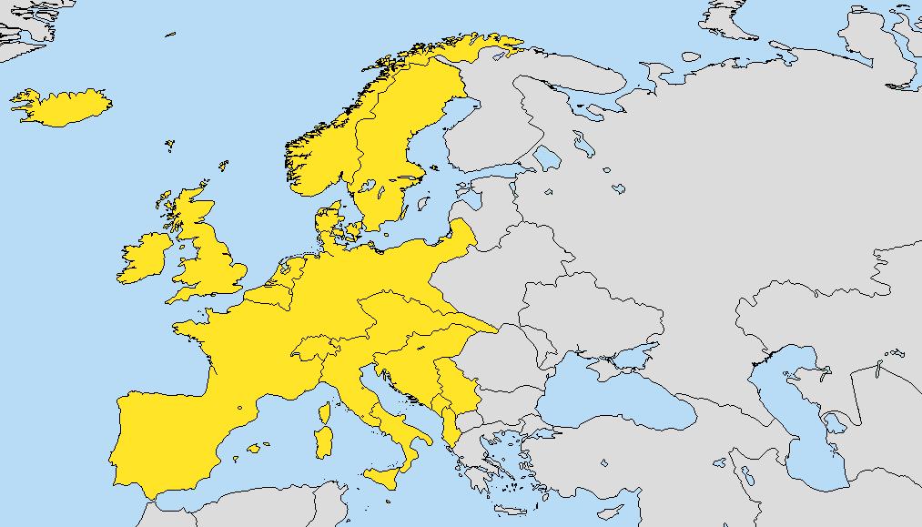 Europa Occidental (Gran Imperio Alemán)