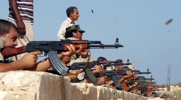 Война в Ливии (Перестройка)