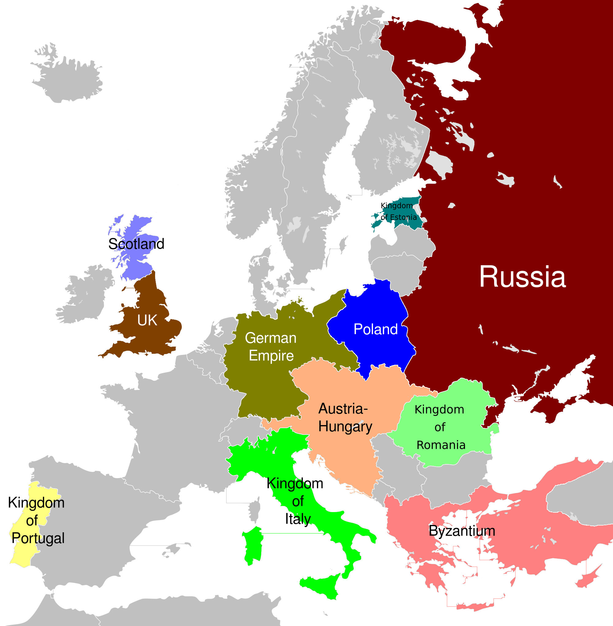 Europe Differently painted.png
