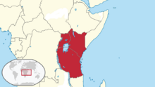 Location East Africa