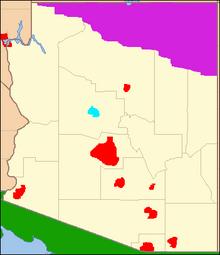 Location of Arizonan Republic