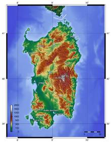 Location of Sardinian Mandate