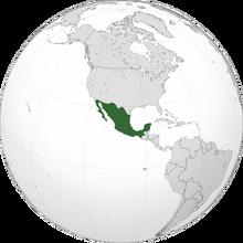 Localización de Tercera República Mexicana (NT)