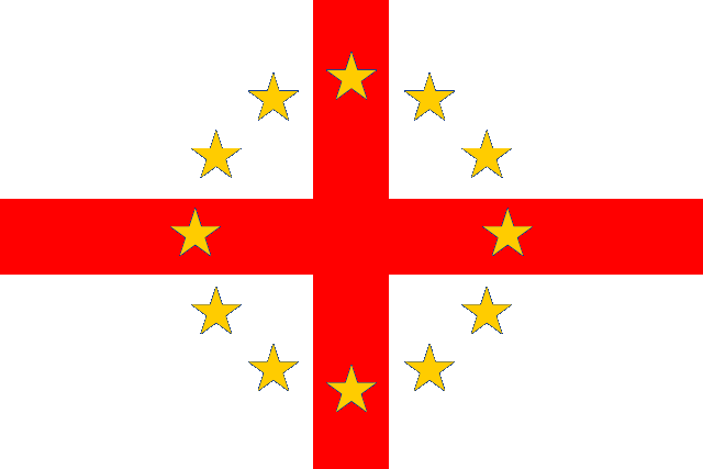 640px-Flag of European Federation England.png