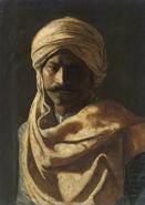 Arab prince portrait