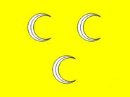 3 Crescent flag of Persia