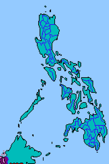 Location of Republic of the Philippines