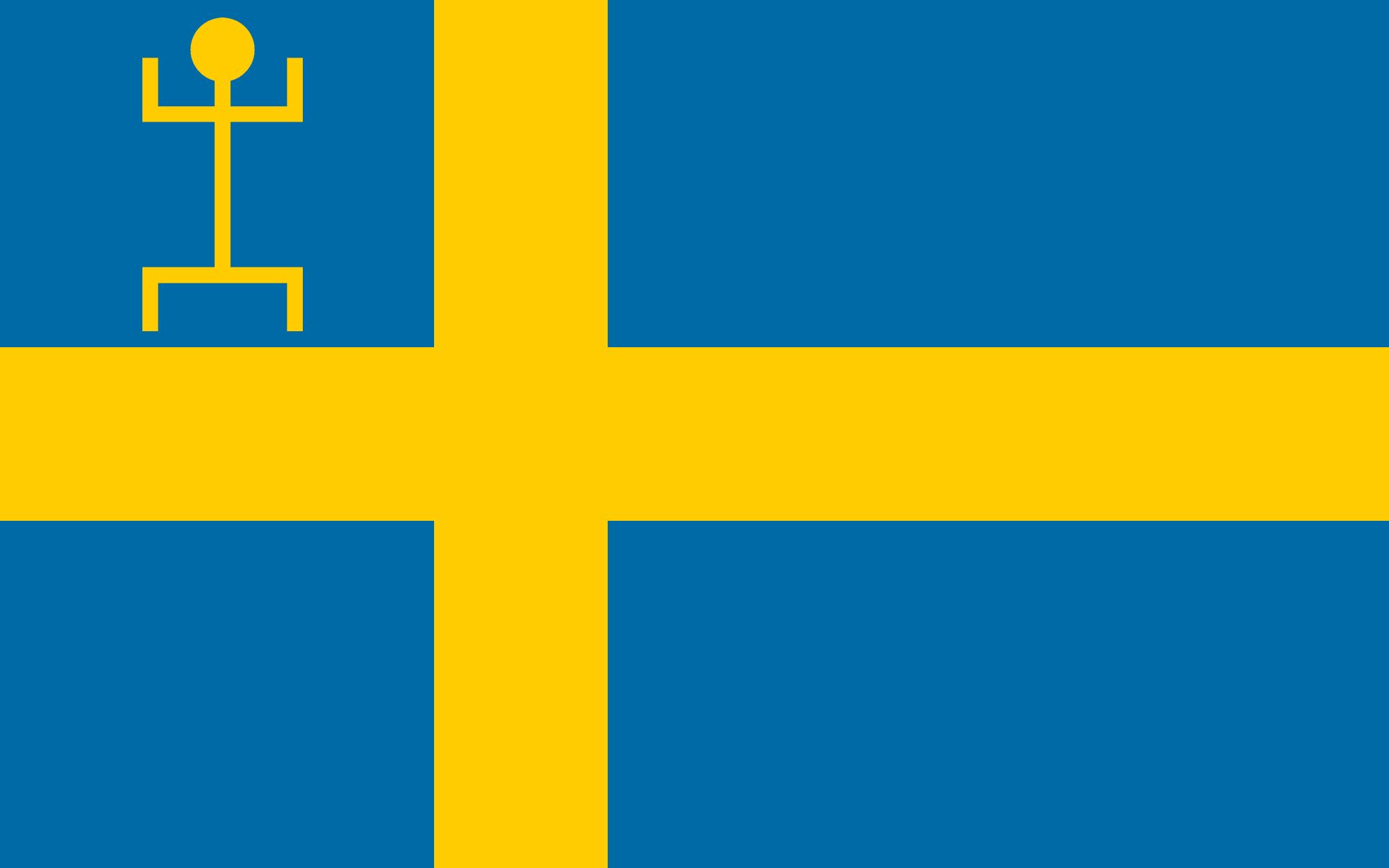 Flag of Swedish West Africa (IM).png