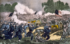 800px-Battle of Gettysburg, by Currier and Ives.png