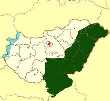 Location of Partium
