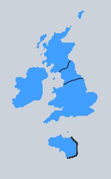 Location of Brython