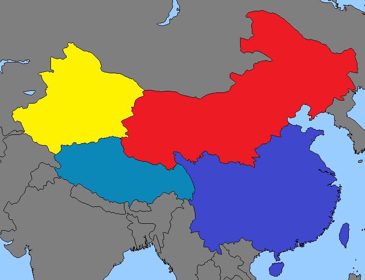 China (Great Nuclear War)